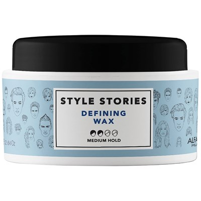 Style Stories Defining Wax